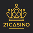 21 Casino: Welcome Bonus                                   121% up to £300