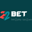 22 Bet                   122% up to €300