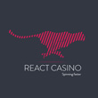 React Casino                                   200% up to €200