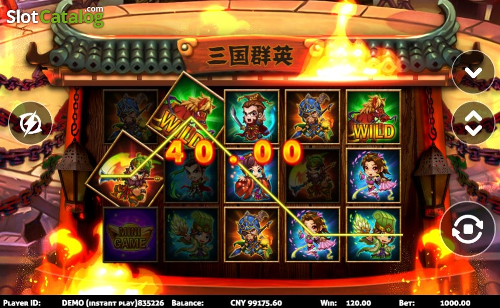 Three Kingdoms Slot Online