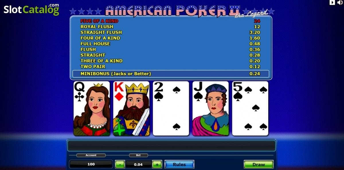 American Poker 2 Online