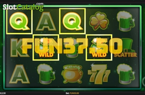 Win Screen. Pots of Luck (Video Slot from 1X2gaming)