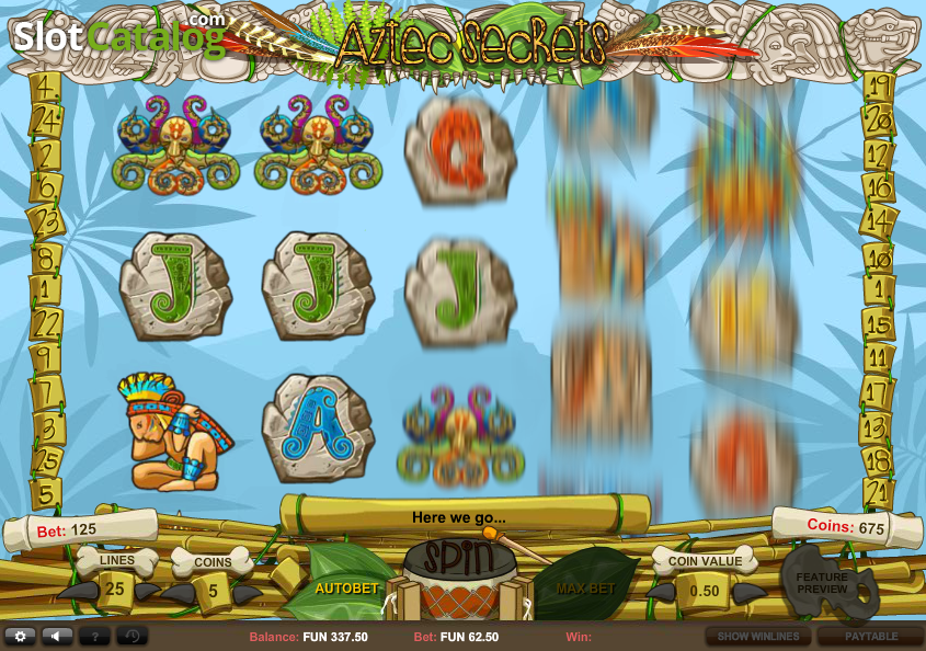 Aztecs Slot - Read our Review of this Cozy Games Casino Game