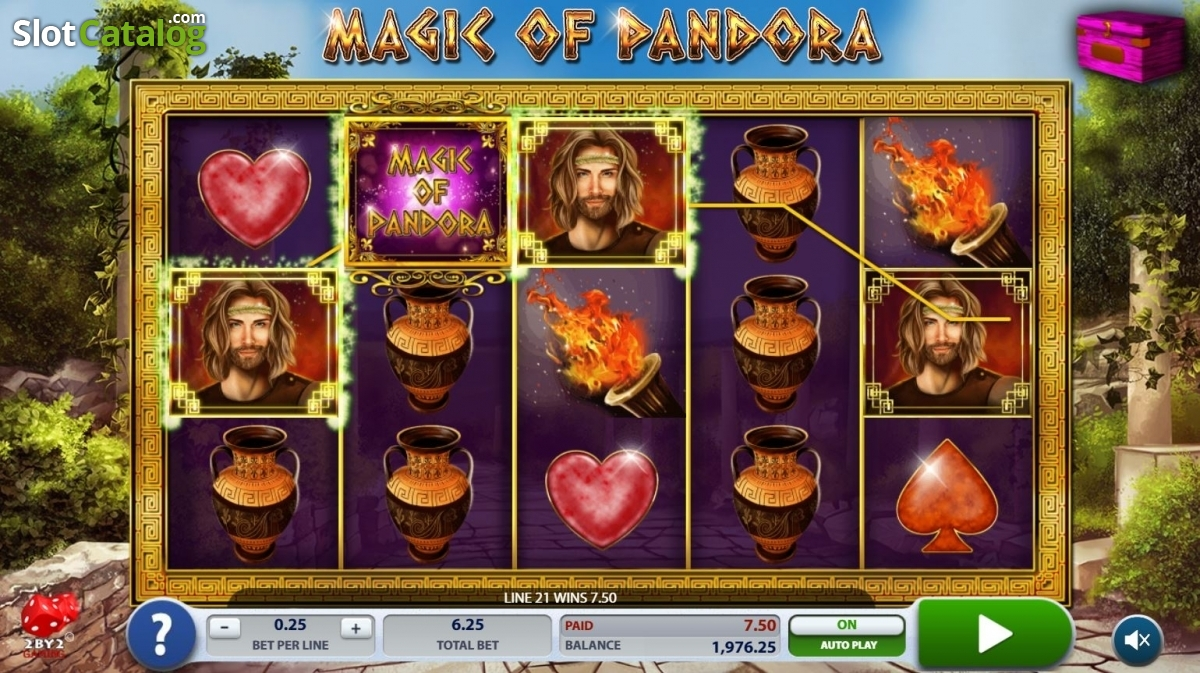 Magic of Pandora Slot Review, Bonus Codes & where to play from United  Kingdom