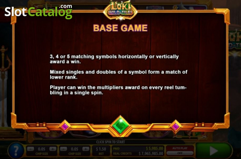 Features 1. Loki Wild Tiles (2BY2 Gaming) (Video Slots from 2by2 Gaming)