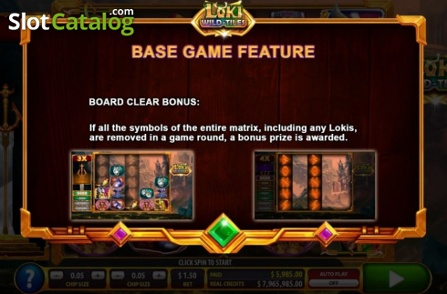 Features 2. Loki Wild Tiles (2BY2 Gaming) (Video Slots from 2by2 Gaming)