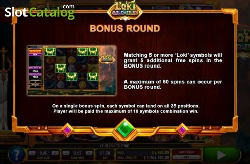 Features 4. Loki Wild Tiles (2BY2 Gaming) (Video Slots from 2by2 Gaming)