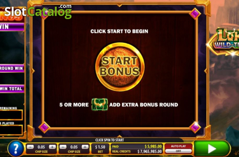 Start bonus. Loki Wild Tiles (2BY2 Gaming) (Video Slots from 2by2 Gaming)