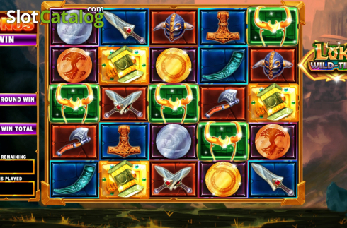 Bonus screen 1. Loki Wild Tiles (2BY2 Gaming) (Video Slots from 2by2 Gaming)