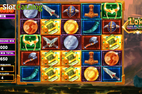 Bonus screen 2. Loki Wild Tiles (2BY2 Gaming) (Video Slots from 2by2 Gaming)