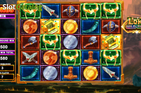 Bonus screen 3. Loki Wild Tiles (2BY2 Gaming) (Video Slots from 2by2 Gaming)