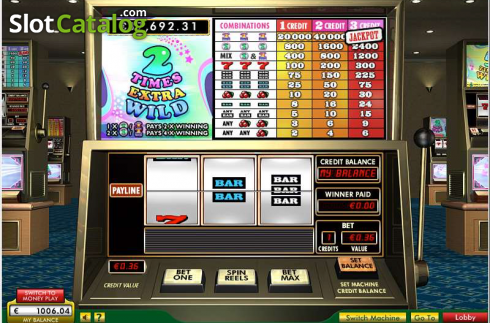 Screen 1. 10 Times Wild (Video Slot from 888 Gaming)