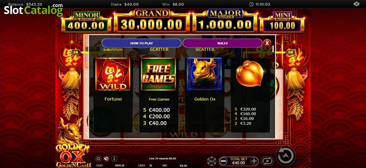 Spiele Golden OX - Video Slots Online