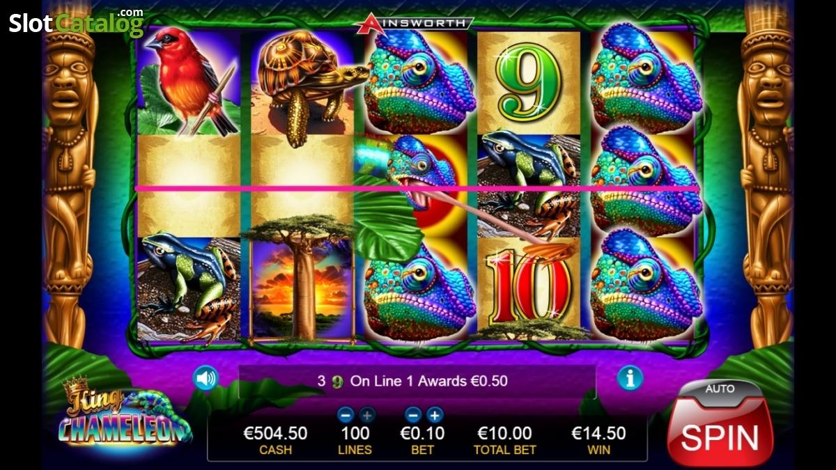 Spiele King Chameleon - Video Slots Online
