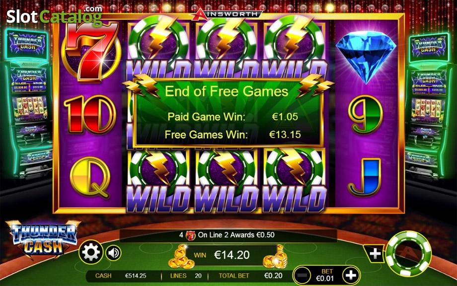 Spiele Thunder Cash - Video Slots Online