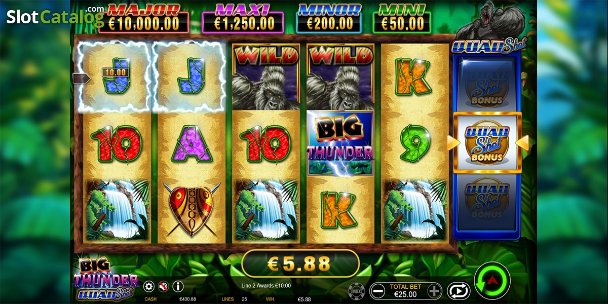 Spiele Big Thunder Quad Shot - Video Slots Online