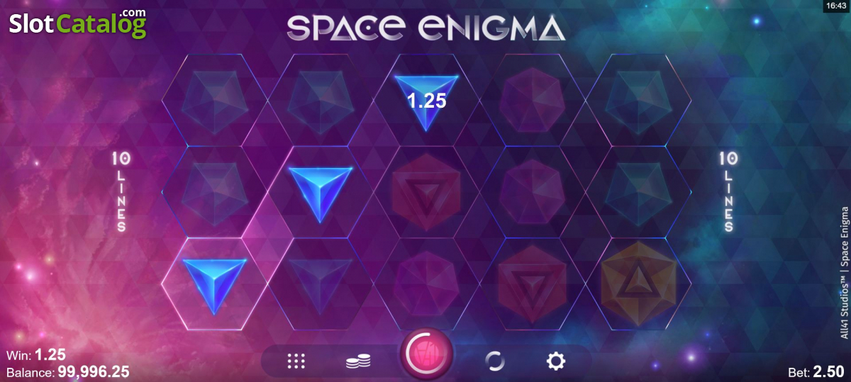 Spiele Space Enigma - Video Slots Online