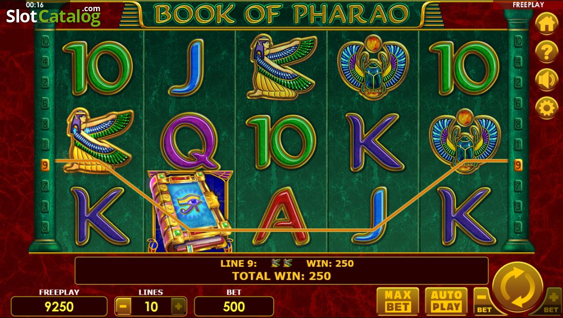 Spiele Book Of Pharao - Video Slots Online