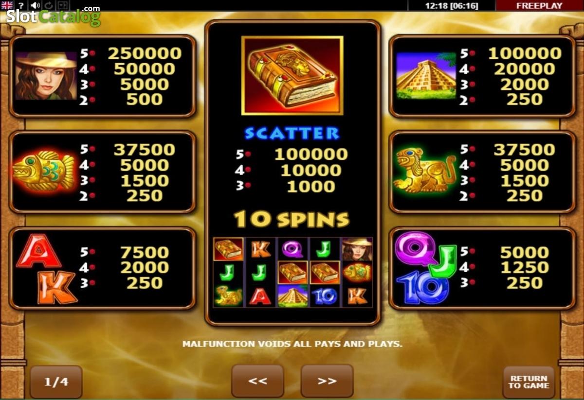 Spiele Book Of Aztec - Video Slots Online