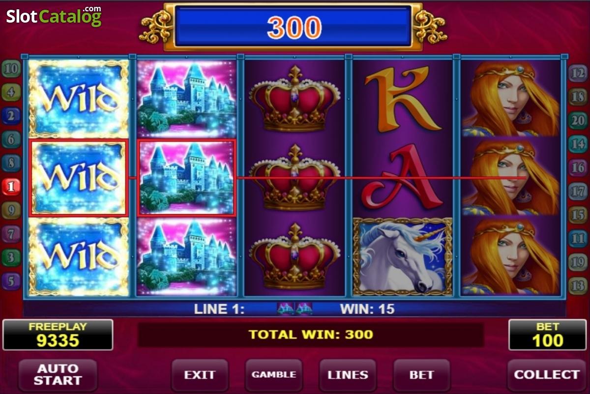 Royal Unicorn Slot Machine