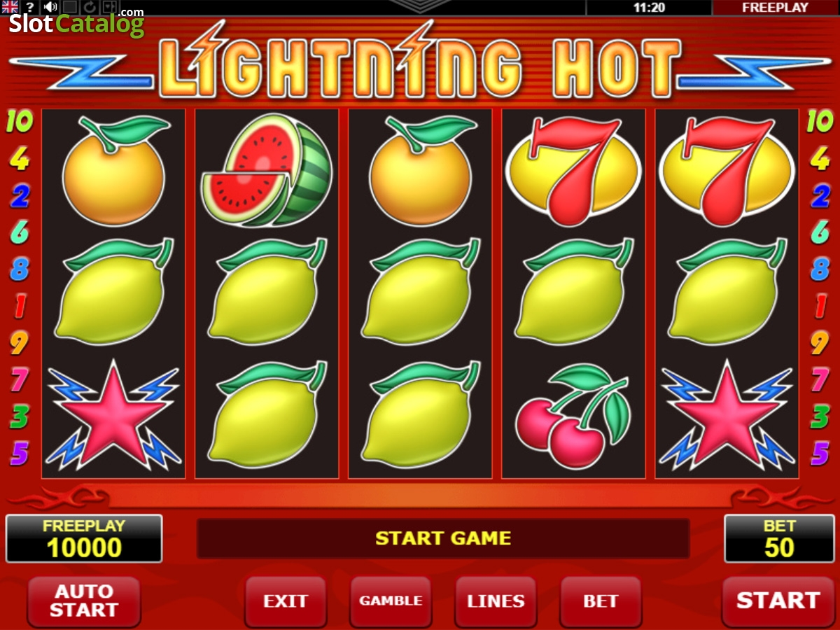Spiele Lightning Hot - Video Slots Online