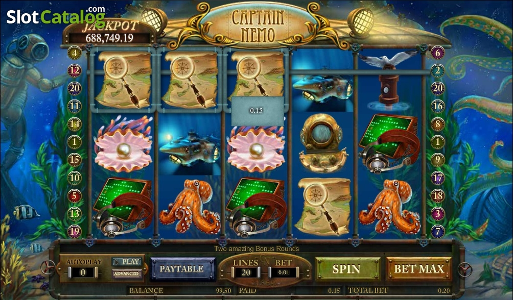 Captain Nemo is one of the newer online slots games from Amaya.It represents the online casino developer's dedication to innovation in the online gaming world.In addition to offering up beautiful graphics, Captain Nemo online slots also boasts impressive winning potential.4/5(1).Datça