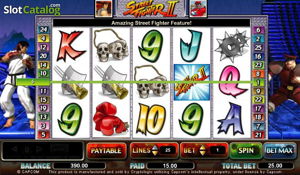 Spiele Street Fighter II - Video Slots Online