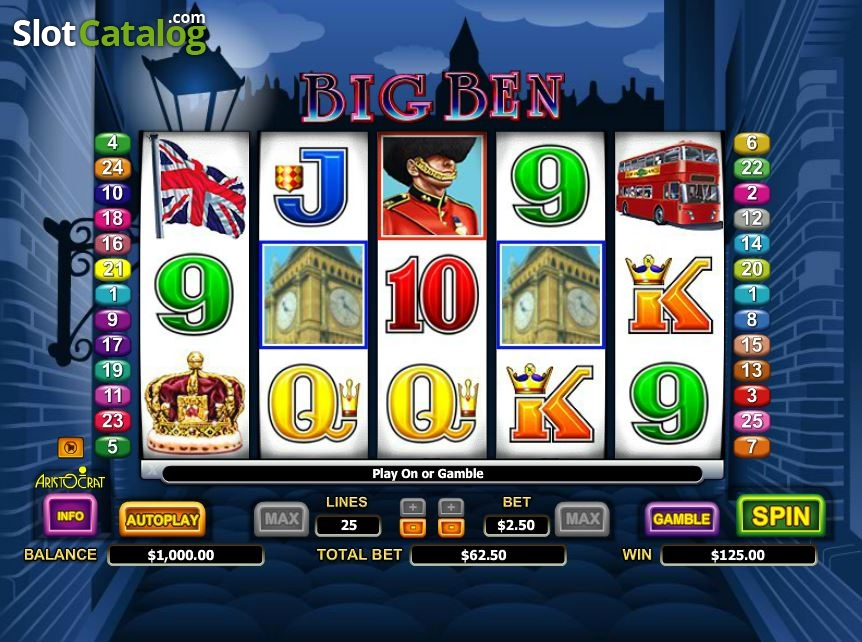 Big Ben Free Slots