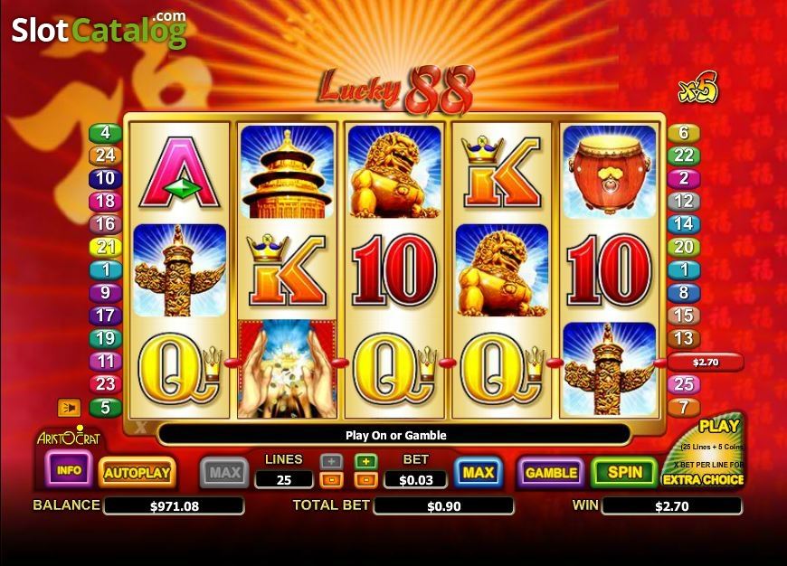 Lucky 88 Slots