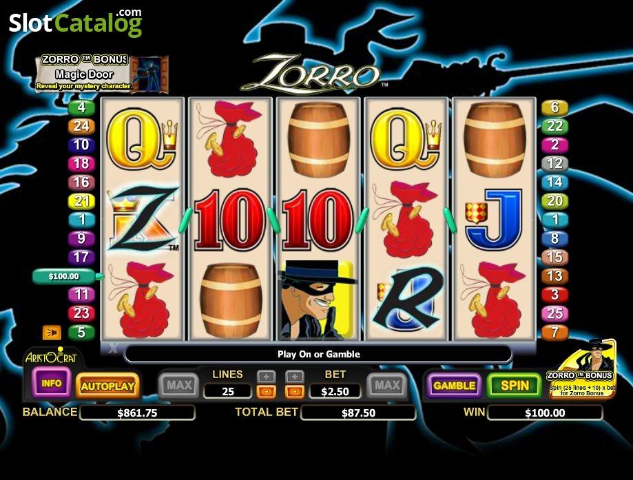 Free Zorro Slots