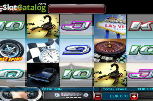 Screen10. Jackpot GT Race to Vegas (Video Slots from Ash Gaming)