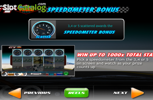 Screen9. Jackpot GT Race to Vegas (Video Slots from Ash Gaming)