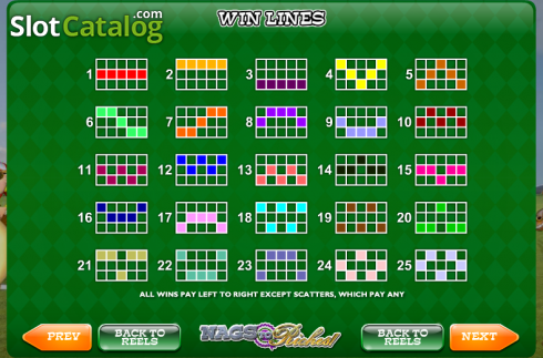 Screen10. Nags to Riches (Video Slot from Ash Gaming)