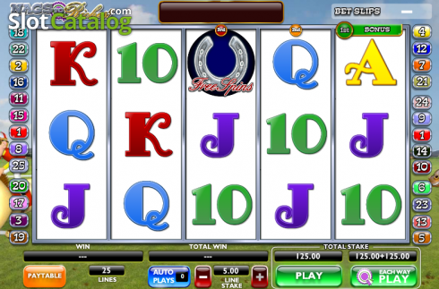 Screen11. Nags to Riches (Video Slot from Ash Gaming)