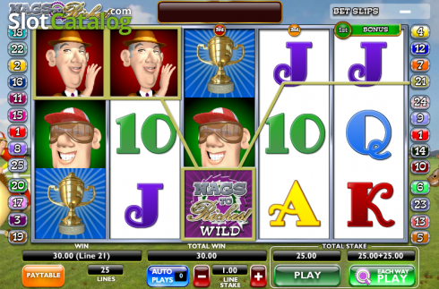 Screen14. Nags to Riches (Video Slot from Ash Gaming)