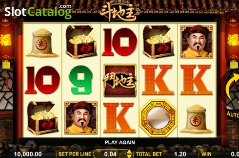 Schermo2. Dou Di Zhu Plus (Video Slot a partire dal Aspect Gaming)