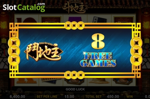Schermo6. Dou Di Zhu Plus (Video Slot a partire dal Aspect Gaming)