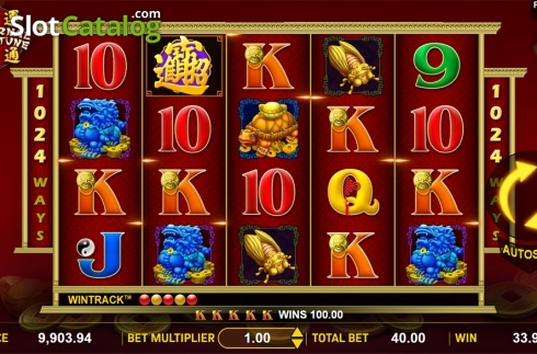 Win screen 2. Eternal Fortune (Video Slot from Aspect Gaming)