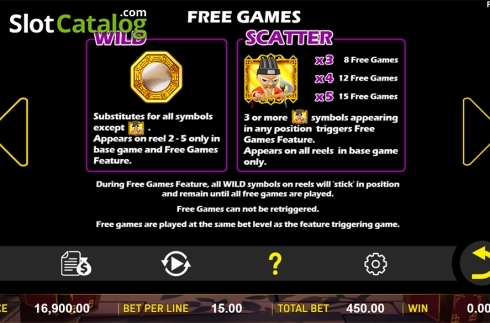 Paytable 2. Zombie's Fortune (Video Slots from Aspect Gaming)