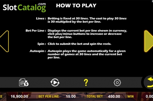 Paytable 4. Zombie's Fortune (Video Slots from Aspect Gaming)