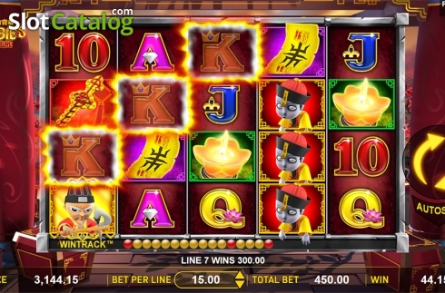 Win screen 2. Zombie's Fortune (Video Slots from Aspect Gaming)