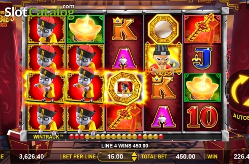 Win screen 3. Zombie's Fortune (Video Slots from Aspect Gaming)
