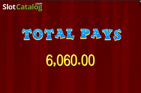 Total win . Le Cirque (Video Slot from Aspect Gaming)