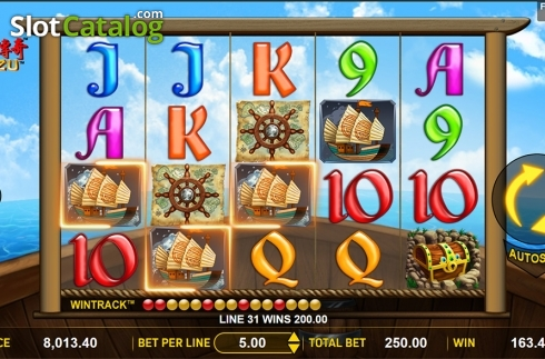 Win screen 2. Mazu (Video Slot from Aspect Gaming)