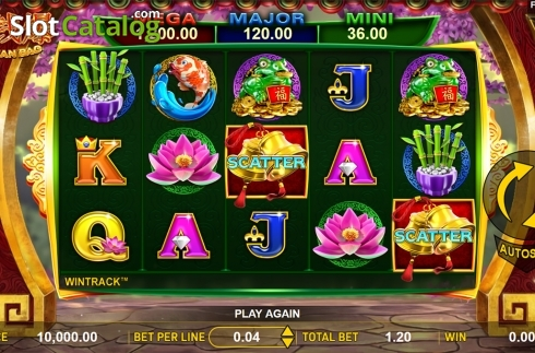 Reels screen. Jin Qian Bao (Video Slot from Aspect Gaming)