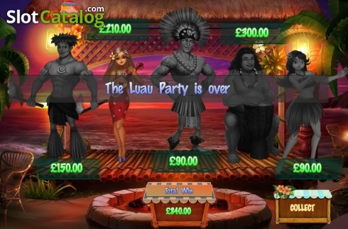 Bonus Game Screen 3. Ticket to Paradise (Video Slot from Asylum Labs Inc.)