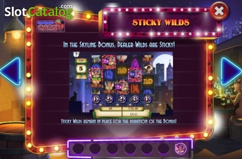 Features 5. Blackjack Cats (Video Slot from Asylum Labs Inc.)