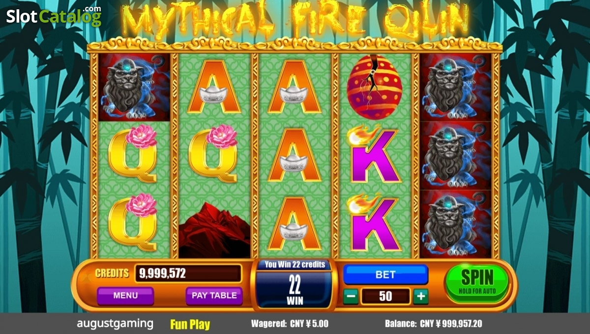 Spiele Mythical Fire Qilin - Video Slots Online