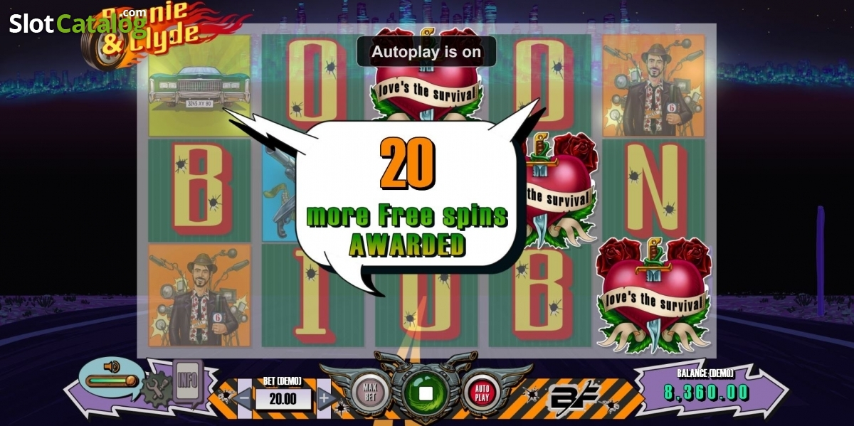 Thunder youtube bonnie clyde slot machine online bf games lar?reservations