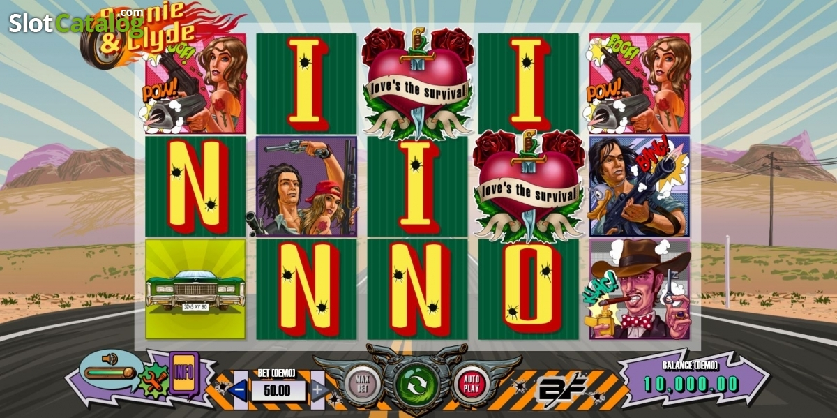 Lottery bonnie clyde slot machine online bf games hotel manager